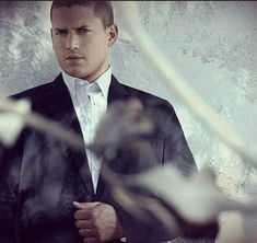 Wentworth Miller looking very GQ.