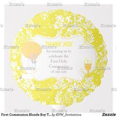 Shop First Communion Blonde Girl Yellow Damask Balloon created by KPW_Invitations. Dark Skin Boys, Helium Gas, Photo Balloons, First Communion Invitations, Balloon Shapes, Gold Girl, Custom Balloons, Blonde Boys, First Holy Communion