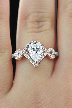 Engagement Ring Shapes and Cuts And#8211; Total Jewelry Photo Guide ❤ See more: http://www.weddingforward.com/engagement-ring-shapes/ #weddings