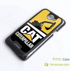 CATERPILLAR 1 Tractor Logo HTC One X, M7, M8 Phone Case Cover