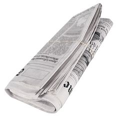 Cover the bottom of your trash can with old newspapers. It's an easy way to keep clean and soaks up leaks and odors! #tip