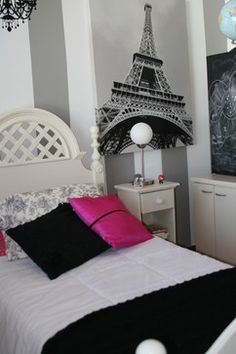 eiffel tower design ideas pictures remodel and decor page 2 - Eiffel Tower Decor For Bedroom