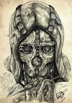 DISHONORED best game ever :D love how the steampunk's infused into that game, and this mask just looks amazing!!!