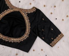 Black Blouse Designs, Simple Blouse Designs, Latest Blouse Designs, Latest Blouse Patterns, Indian Blouse Designs, Blouse Neck Patterns, Wedding Saree Blouse Designs, Saree Blouse Neck Designs, Casual