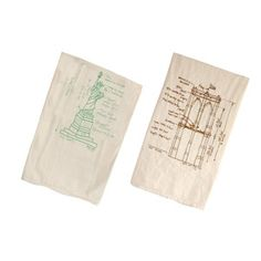 New York City Tea Towel Set, $22, now featured on Fab.