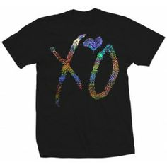 XO Special Edition Silver Shatter Foil Drake T Shirt