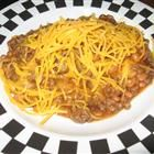Cowboy Casserole (This is not the right picture. There is no cheese, but I suppose you can add it. I skip the biscuit dough.)