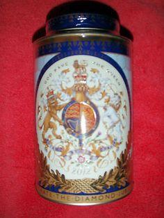 Queen's Diamond Jubilee Tea Caddy