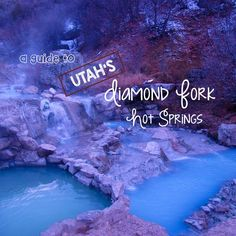 The amazing Diamond Fork Hot Springs are just an hour from Salt Lake. Here's the details about how to get your soak on at these alluring pools.