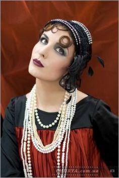 стиль и макияж 20-х годов
