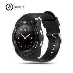 3e76db21931 Sograce Smart Watch V8 Smartwatch Men Women Watch Телефонний телефонний  дзвінок Bluetooth Phone Call Relogio 2G