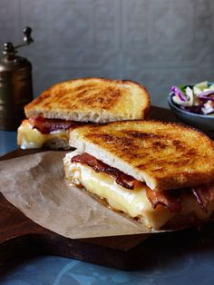 Happy National Grilled Cheese Day! How good does this jalapeño-popper grilled cheese look?