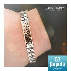 La colección Classic Chain, de Jonh Hardy es un símbolo de conexión humana eterna y el vínculo de la comunidad.