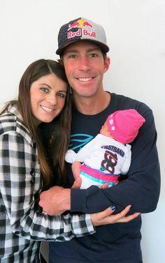 Lyn-Z and Travis Pastrana's baby girl <3