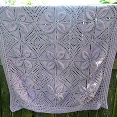 Daily Knit Pattern: Princess Pram Cover