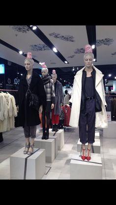Topshop mannequin runway