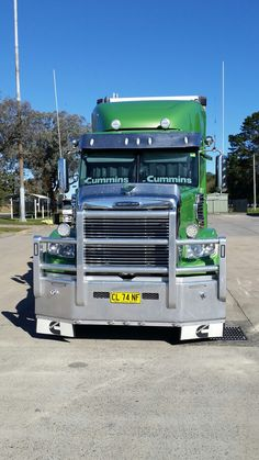"To any so called skilled truck driver outside Australia, we have these things called ""bull bars"", and with all the cattle and roos on the road, the skill is to aim directly at them... Ross"