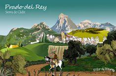 Prado del Rey en dibujo