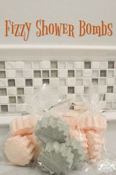 Essential Oil Fizzing Shower Bombs