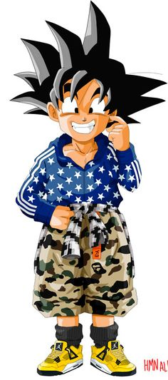 Akira Toriyama s famous manga and anime Dragon Ball Z gets a streetwear  makeover. Human Aliens 7fb5c39150
