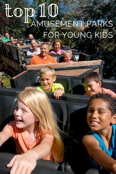 2015 Top Ten Amusement Parks for Young Kids