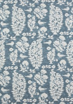 ALLAIRE, Slate Blue, F972594, Collection Chestnut Hill from Thibaut