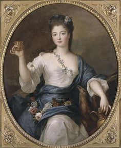 Charlotte Aglaé of Orléans, Princess of the Blood (1700-1761). She was the daughter of Philippe II, 2nd Duke of Orléans and his wife Françoise Marie, Legitimized of France. She was Duchess of Modena and Reggio (1737-1761) as the wife of Francesco III, Sovereign Duke of Modena and Reggio. Her children surviving to adulthood were Ercole III, Duke of Modena and Reggio, and The Princesses Maria Teresa, Matilde, Maria Fortunata, and Maria Elisabetta.