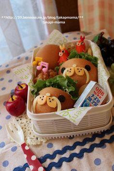 Seal roll bento #food #bento