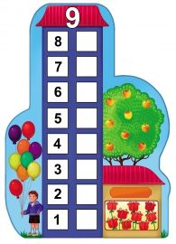 Number Houses Counting Sheets for Young Children (Six Through Ten) Kindergarten Math Worksheets, Kindergarten Centers, Math Centers, Math Activities, Numbers 1 10, I School, Kids Learning, Things To Come, Classroom