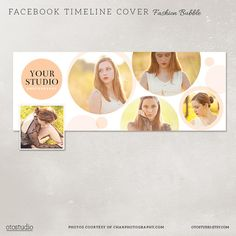 Facebook timeline cover template photo collage photos by OtoStudio