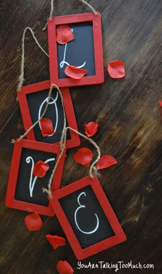 Great idea for a quick & easy touch of Valentine's! -Maura