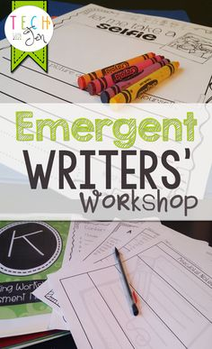 Need help getting started with writers' workshop for emerging writers? This is filled with great information and resources to get you started. $