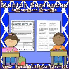 Instead of having students analyze what's grammatically wrong, encourage them to analyze what's RIGHT! This FREE mentor sentences resource will help you get started with analyzing complete sentences (CCSS Reading Lesson Plans, Reading Lessons, Writing Lessons, Writing Skills, Writing Complete Sentences, Mentor Sentences, Mentor Texts, Expository Writing, Narrative Writing