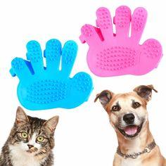 All New Pet Grooming Glove & Massaging Mitt - Big Star Trading Store