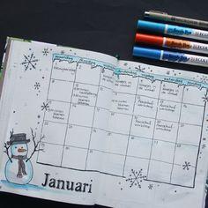 Nieuwsgierig naar Bullet Journaling? In dit blogbericht laat Marjolein een paar winterse voorbeelden zien.