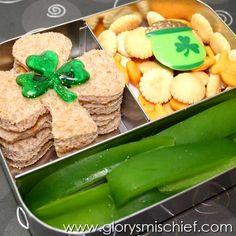Saint Patricks Day School Lunch
