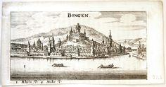 """Historisches Museum am Strom - Hildegard von Bingen - """"Kupferstich """"BINGEN"""""""" (Overview) (museum-digital)"""