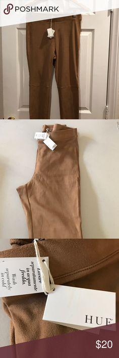 Hue Elegant Cammello Leggings Size Medium, New with tags Hue Leggings.90 % polyester 10 % elastin HUE Pants Leggings