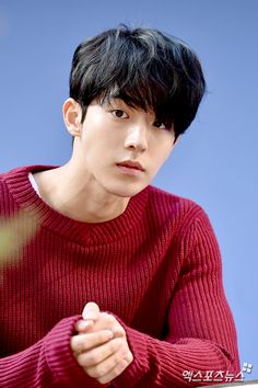 Nam Joo Hyuk - this kind of picture makes me ache the most. he's one of those men who is an agonizing mix of a seemingly sweet, kind soul and an excruciatingly luscious babe. I'm trying to fathom it right now and smoke is about to come out of my ears. One Yg, Nam Joo Hyuk Cute, Busan, South Corea, Ver Drama, Jong Hyuk, Park Bogum, Handsome Korean Actors, Song Joong