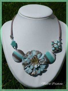 love this fun necklace by Valerie Creations...