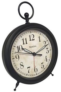 Westclox Top Ring Decor Alarm Clock -- More info could be found at the image url. (This is an affiliate link) #Clocks