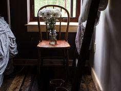 Moody light brown bedroom - Home Decorating Trends - Homedit Decor, Barn Renovation, Light Brown Bedrooms, Home, Home Board, Brown Bedroom, Best Paint Colors, Trending Decor, Living Room Designs