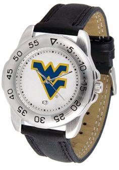 West Virginia Mountaineers Gameday Sport Men's Watch by Suntime