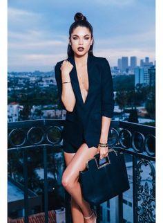 Black Lux Tuxedo Blazer High Street Brands, Trendy Clothes For Women, Black Crop Tops, Clubwear, Tuxedo, Business Women, Sexy Dresses, Fashion Outfits, Blazer