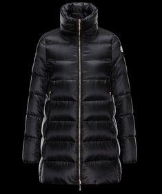 Achetez Manteau Moncler Femme Torcy Manteau Noir pas chere Manteau Moncler,  Long Jackets, Coats c57624dfc57