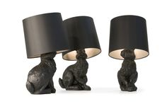 Rabbit Lamp by Front for Moooi * Shock of the Lighting * The Inner Interiorista