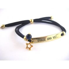 Pulsera ERASE UNA VEZ..., cordón de ante, jade y estrella Disponible el cordon en varios colores // ONCE UPON A TIME ... bracelet , suede cord , jade and star. Cordon available in various colors