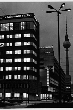 Berlin - DDR at night