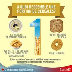 Eat whole grain foods – Canada's Food Guide Couscous, Snack Recipes, Healthy Recipes, Snacks, Whole Grain Foods, Hot Cereal, Nutrition Month, Vitamins And Minerals, Just Do It