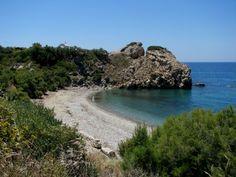 ABRAM BEACH, Naxos, GREECE. #wildbeach